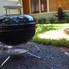 Charcoal BBQ in Garden Area